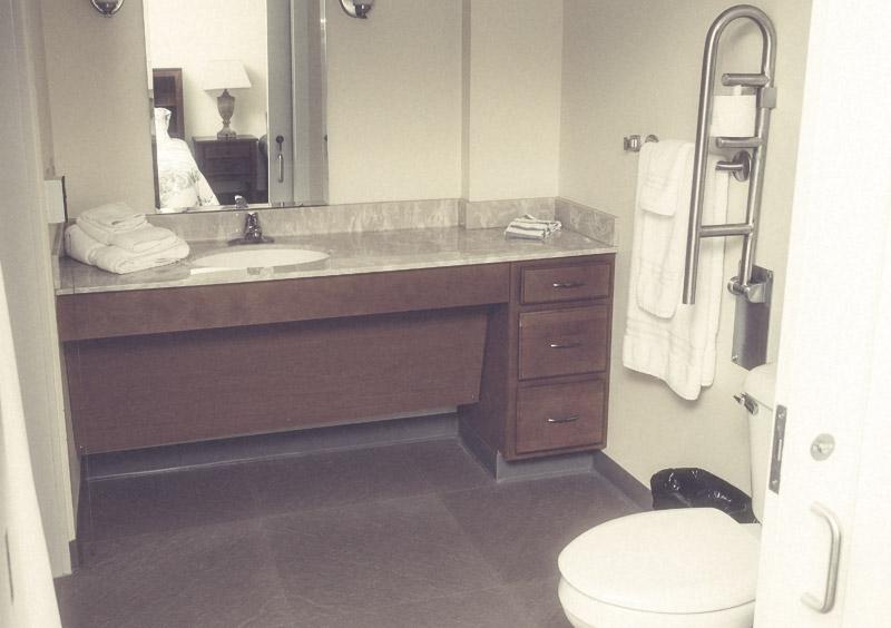 Bathroom at The Anchor